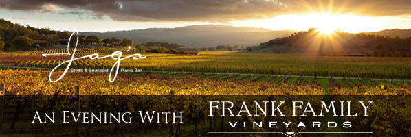 0 Frank Family Vineyards wine dinner