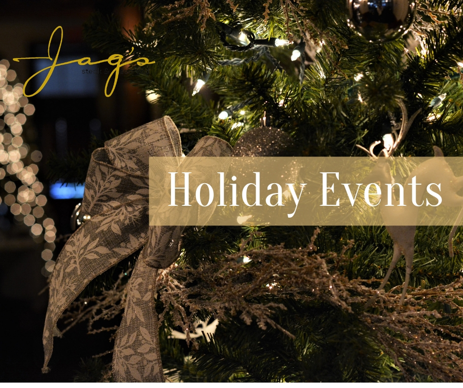 Jag's Holiday Events 2018