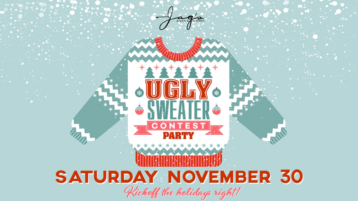 Jag's Ugly Sweater Party 2019 November 30