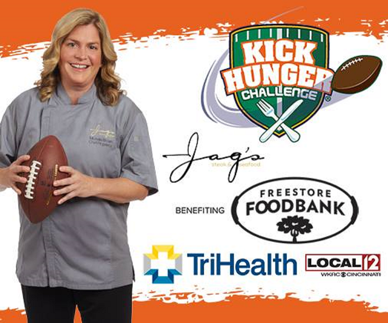 Jag's Steak and Seafood wins Kick Hunger Challenge attends Taste of the NFL on eve of Super Bowl