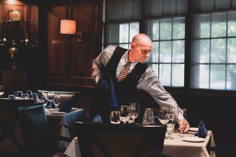 Jeff Goodin, server at Jag's