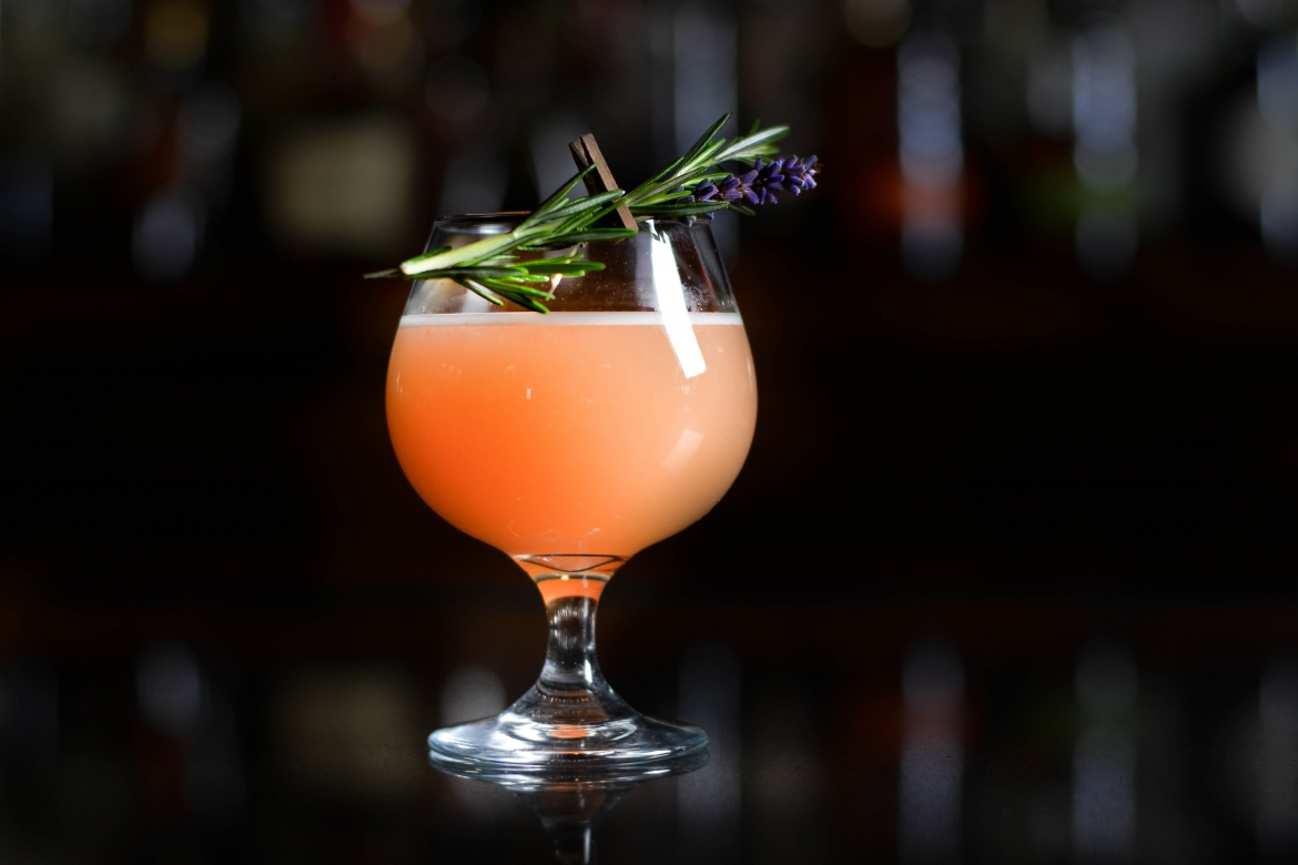 Ladybird, a drink on the Jag's new cocktail menu